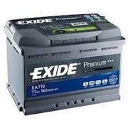 Аккумуляторы EXIDE EA770 фото