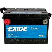 Аккумуляторы EXIDE EB758 фото