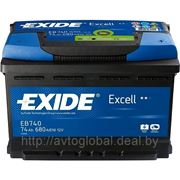 Аккумуляторы EXIDE EB740 фото