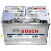 Аккумуляторы BOSCH 0092S60080 70Ah 760A 278/175/190 AGM фото