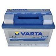 Аккумулятор VARTA BLUE Dynamic 12V 574012068 E11 74 Ач, 278x175x190, 680А, B13, правый плюс фото