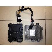 Блок управления двигателем Magneti Marelli IAW1AP80 16300574 9637086880 для PEUGEOT 206 1.1л 44квт 1999г . фото