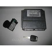 ЭБУ блок управления двигателем 16268377 1637797 RAAC для Opel Astra G 1.6л X16SZR 1998-2000 фото
