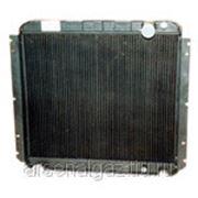 """Радиатор охлаждения ЗИЛ-5301 (Бычок) (медный, 2-рядный) """"ШААЗ"""" фото"""