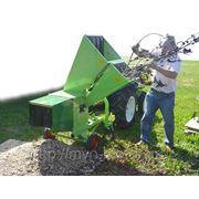 Измельчитель профессиональный с ленточным конвейером, привод от вала отбора мощности трактора на 540 об. фото