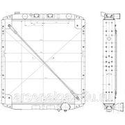 """Радиатор охлаждения МАЗ-5432А5 (Евро-3, медный, 4-рядный) """"ШААЗ"""" фото"""