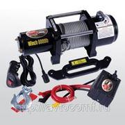 Электрическая лебедка Unity 6000 12V с тяговым усилием 2948 кг фото