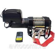 Лебедка электрическая Unity 3500 12V с синтетическим тросом фото