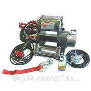 Электрическая лебедка для эвакуатора SportWay WS9500i 24V (узкий барабан, без троса) фото