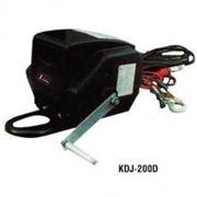 Лебедка автомобильная электрическая 12В DW3 (900кгх9м) фото
