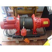 Лебедка электрическая KDJ-1000E (г/п 1000 кг, L-60 м, 380 В, 150 кг)