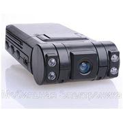 Автомобильный видеорегистратор CarCam DVR X1000 2камеры фото