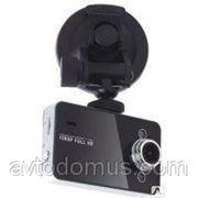 Автомобильный видеорегистратор K6000 Fullhd 1080P Black / White фото