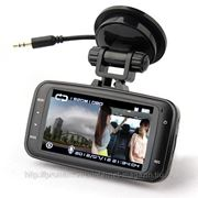 GS8000Pro Car DVR 1080P Full HD GPS Motion Detection Night Vision Wide Angle HDMI фото