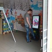 Автомат для чистки обуви с лсд32 фото