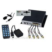 Автомобильный видеорегистратор INTRO SDR-G40 GPS (4камеры)