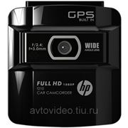 Автомобильный видеорегистратор HP F210 фото