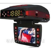 Автомобильный видеорегистратор + антирадар Conqueror GPS-138 H фото