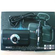 Автомобильный видеорегистратор MOBI 350 GPS ( 2 камеры + GPS модуль) фото