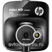Автомобильный видеорегистратор HP F200 фото