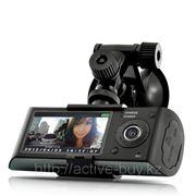 Видеорегистратор 2 камеры с GPS и G-сенсором фото
