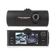 Автомобильный регистратор с двумя камерами DVR F50 Dual 1280*720 Built-in G-Sensor H.264 фото