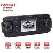 """Автомобильный Видеорегистратор с двумя поворотными камерами """"CarCam III"""" GPS фото"""