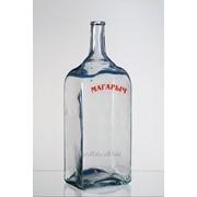 Стеклянная бутыль Магарыч 10 литров (ручная работа) фото