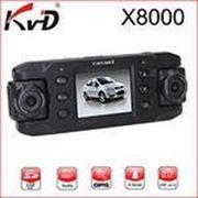 Автомобильный регистратор с двумя камерами CarCam X8000 L GPS фото