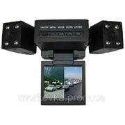 Видеорегистратор автомобильный DVR H3000 2 камеры, купить H-3000, H 3000 фото