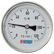 Термометр биметаллический из нержавеющей стали, осевой Метер ТБ-3