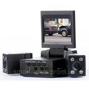 Видеорегистратор автомобильный DVR H3000 2 камеры Дешевле нет ! Оригинал. фото