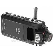Видеорегистратор Gazer F410 с поротным дисплеем и модулем камеры фото