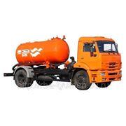 Вакуумная машина КО-520А на шасси — КАМАЗ 43253