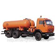 Вакуумная машина КО-505А на шасси КамАЗ-65115