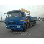 Манипулятор КАМАЗ 65117+SOOSAN SCS736 фото