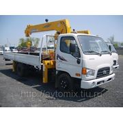 Hyundai HD78 c КМУ (Soosan 335) 2013 г. фото