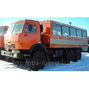 Автобус вахтовый НЕФАЗ 4208-10-13 на КамАЗ 43114 привод 6х6 фото
