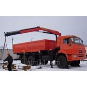 Камаз бортовой с КМУ ИМ-150 43118RB УСТ5453