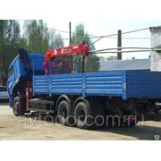 КаМАЗ 65117 с КМУ UNIC URV – 344