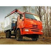 КАМАЗ-43118 с манипулятором FASSI F155A.0.22 фото