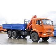 КАМАЗ-43118 с манипулятором Palfinger PK-1500A фото