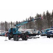 Камаз седельный тягач с КМУ ИМ-150 44108-24 фото