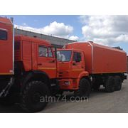 ППУ-1600/100 КАМАЗ 43118-24 (740.550 300л.с. ZF9-кп, без спального места, рестайлинг) фото