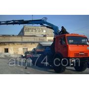 Камаз седельный тягач с КМУ KS-1256G-II 44108-24 фото