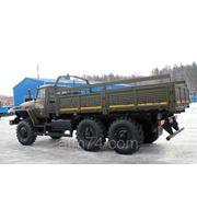 Урал 4320-0111-61 ( 6х6, 6тн, бортовой, металл.платформа, тент, Евро-4 ) фото