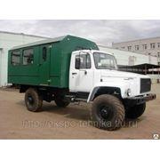 Вахтовый автобус ВМ-3284 на шасси ГАЗ-33081 фото