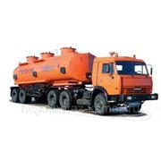 Автопоезд-топливовоз КАМАЗ 66062+8602-03 (860203-000011110/6)