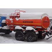 Автотопливозаправщик АТЗ-10 на шасси Урал 4320 Евро-4 без сп.м. фото