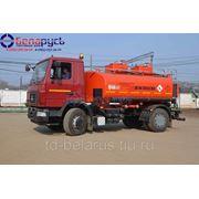 Топливозаправщик бензовоз Граз 11 кубов на новом шасси МАЗ-5440В2-425-000 Евро-4 фото
